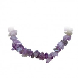 COLLIER BAROQUE AMETHYSTE