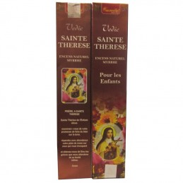 ENCENS SAINTE THERESE MYRRHE 100% NATUREL