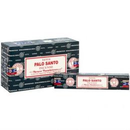 Encens Satya Nag Champa PALO SANTO BOX DE 12 BOITES 15 GR