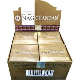 Encens Golden Nag CHANDAN CONES