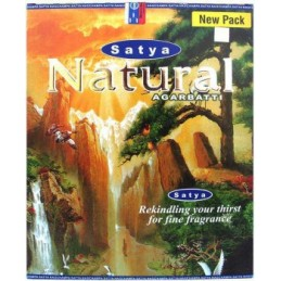 Encens Satya NATURAL BOITE DE 45 GR