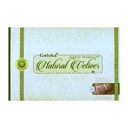 GOLOKA NATURAL VETIVER BOX DE 12 BOITES DE 15 GR