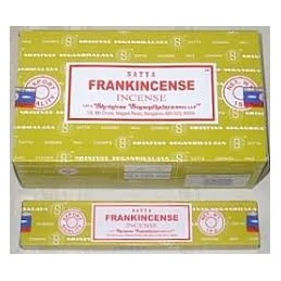 FRANCKINCENSE DE SATYA 15 GR LOT DE 12 BOITES