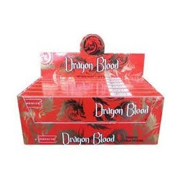 ENCENS SANG DE DRAGON / DRAGON BLOOD NANDITA BOX DE 12 BOITES