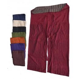Pantalon pêcheur Népalais 100 % coton