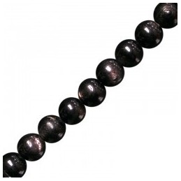 Bracelet HYPERSTHENE boules 6mm