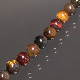 Bracelet 3 OEILS boules 10mm