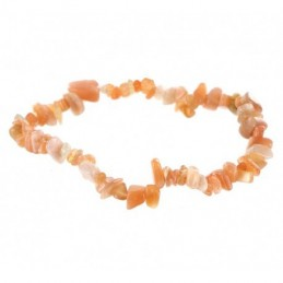 BRACELET EN PIERRE DU SOLEIL NATURELLE COLLECTION BAROQUE