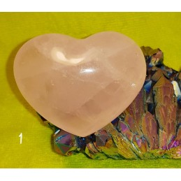 COEUR EN QUARTZ ROSE 157 GR