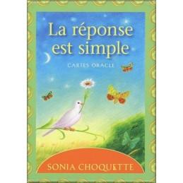 La réponse est simple - Cartes Oracle DE Sonia Choquette