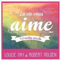 La vie vous aime - 52 cartes oracle DE Louise Hay & Robert Holdenm