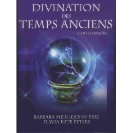 Divination des temps anciens - Coffret DE  Barbara Meiklejohn-Free & Flavia Kate Peters