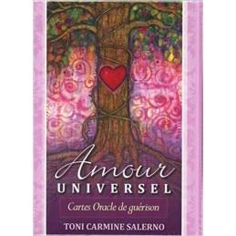 Amour universel - Cartes Oracle de guérison Toni Carmine Salerno
