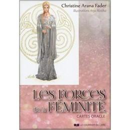 Les forces de la féminité. Cartes Oracle - DE Christine Arana Fader