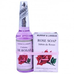 PACK parfum Rose (70 ml) + savon rose (95 gr) Murray & Lanman