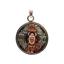 Amulette égyptienne avec Scarabé + tetragramme 2,5 cm