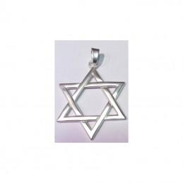 Amulette Etoile de David 7 cm