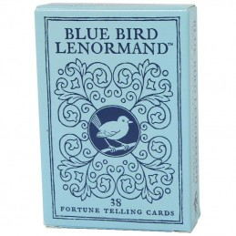 Blue Bird Lenormand 36 CARTES ANGLAIS