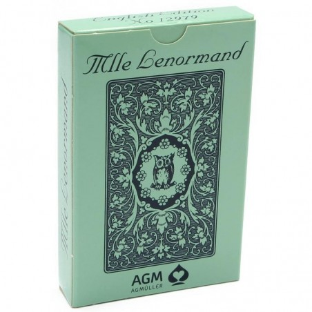Mlle Lenormand Blue Owl by Mlle Lenormand N 12979 ANGLAIS