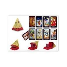 Tarot Bacchus Set Pyramide, Cartes Géantes