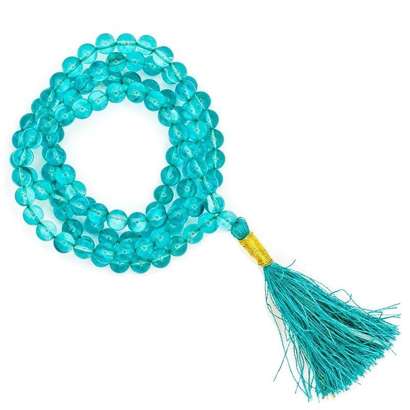 Mala Aqua Aura qualité AA 108 perles