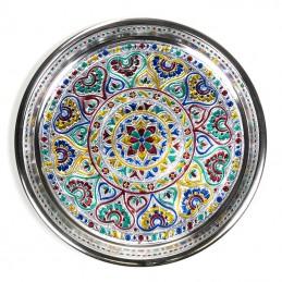 Plat d'offrande Mandala 28 cm
