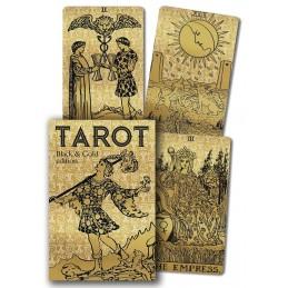 TAROT BLACK AND GOLD EDITION - RIDER WAITE - PAMELA COLMAN