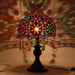 LAMPE MANDALA