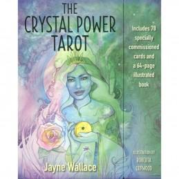 THE CRYSTAL POWER TAROT - JAYNE WALLACE