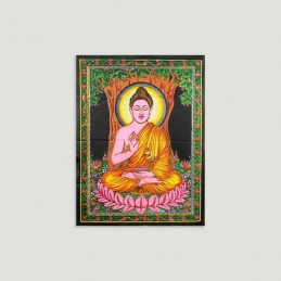 TENTURE BOUDDHA MEDITATION 55 SUR 40 CM
